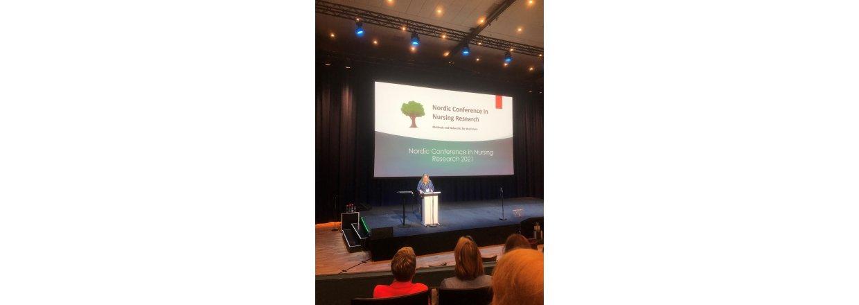 Så er Nordic Conference in Nursing research i gang